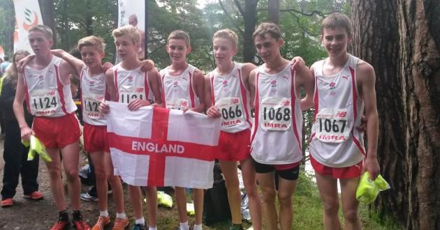 Jamie Runs For England!