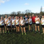 Third Round of Cross Country League