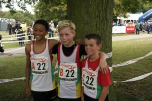 winning lads team